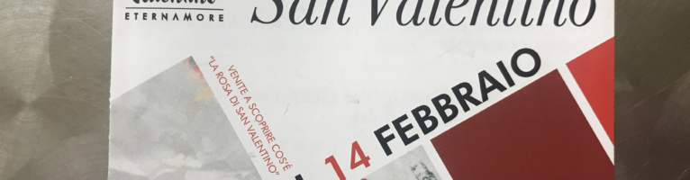 307^ Fiera di San Valentino 2018