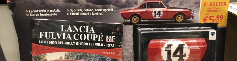 Costruisci Lancia Fulvia Coupé HF